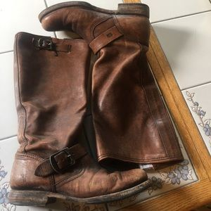 FRYE'S VERONICA EXTENDED CALF/ MID-CALF BOOTS